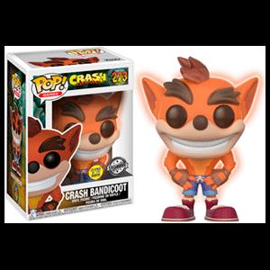 Figura Pop Crash Bandicoot GITD