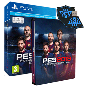 Pro Evolution Soccer 2018 Edición Legendaria