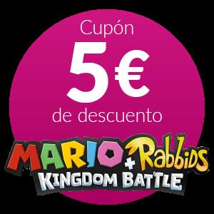5€ Dto. Mario+Rabbids Kingdom Battle