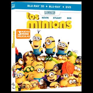 Minions BD 3D + 2D + DVD