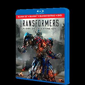 Transformers 4 BD 3D + 2D + DVD