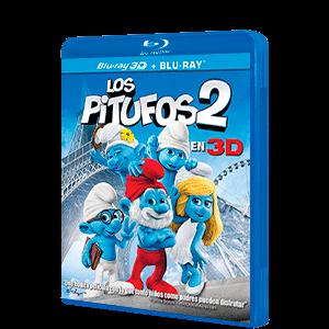 Los Pitufos 2 BD 3D + 2D