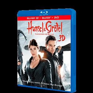 Hansel y Gretel BD 3D + 2D + DVD