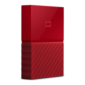 Western Digital My Passport 2TB Rojo USB 3.0