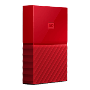 Western Digital My Passport 4TB Rojo USB 3.0