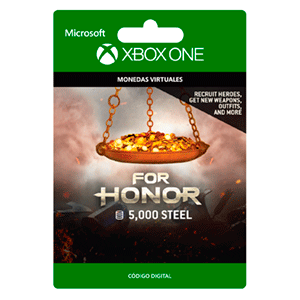 For Honor Currency pack 5000 Steel Credits XONE