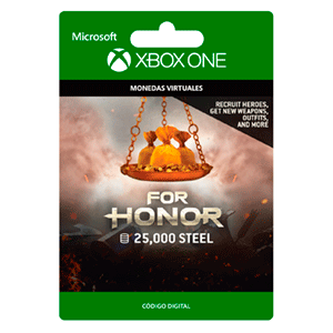 For Honor Currency pack 25000 Steel Credits XONE