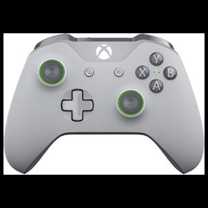 Controller Inalámbrico Microsoft Gris Claro Verde