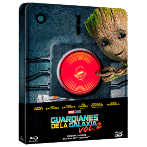 Guardianes de la Galaxia Vol. 2 Steelbook 3D + 2D