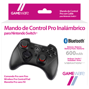 Mando de Control Pro Inalámbrico para Nintendo Switch GAMEware