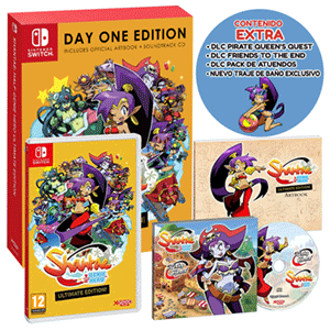 Shantae: Half Genie Hero Ultimate Edition Day One Edition