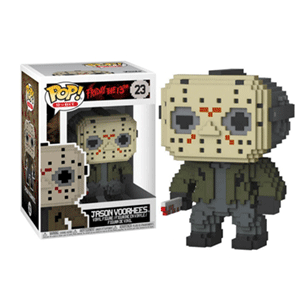 Figura Pop 8-Bit Horror: Jason Voorhees