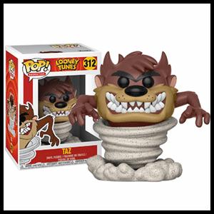 Figura Pop Looney Tunes: Demonio de Tasmania