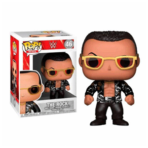 Figura Pop WWE: The Rock Old School