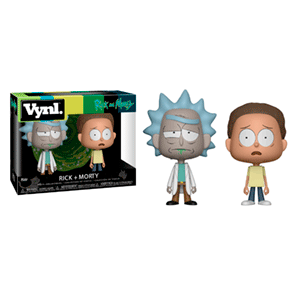 Figura VYNL Rick y Morty: Pack de Rick y Morty