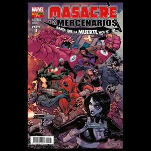 Masacre y Los Mercenarios nº 8