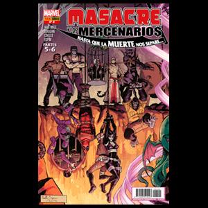 Masacre y los Mercenarios nº 9