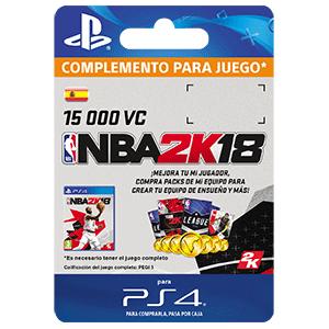 NBA 2K18 15,000 VC PS4