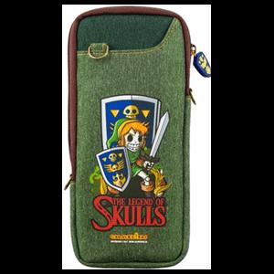 Bolsa de Transporte para Nintendo Switch Calaveritas Zelda