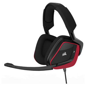CORSAIR Void Pro Surround Dolby 7.1 Rojo PC-PS4-XONE-SWITCH-MOVIL
