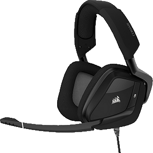CORSAIR Void Pro Surround Dolby 7.1 Negro PC-PS4-XONE-SWITCH-MOVIL - Auriculares Gaming