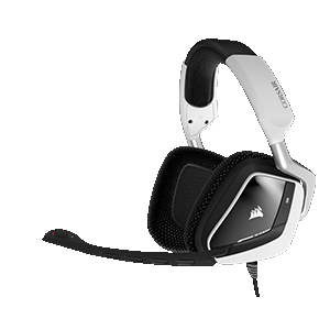 CORSAIR Void Pro RGB USB Dolby 7.1 Blanco PC - Auriculares Gaming