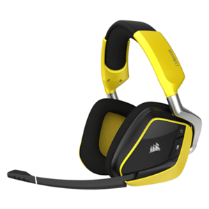 CORSAIR Void Pro RGB Wireless Special Edition Dolby 7.1 Negro-Amarillo PC - Auriculares Gaming