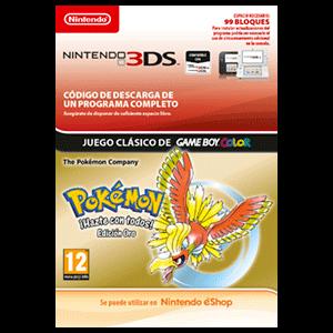 VC - Pokemon Gold - Versión Española 3DS