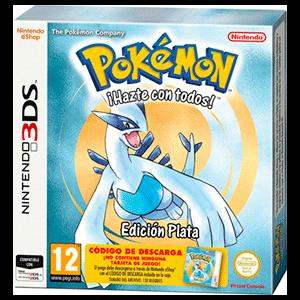 Pokémon Plata - Código Descarga + Caja