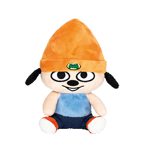 Peluche 20 cm Parappa the Rapper: Parappa