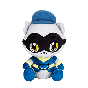 Peluche 20 cm Sly Cooper: Sly