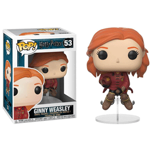 Figura Pop Harry Potter: Ginny en Escoba