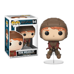 Figura Pop Harry Potter: Ron en Escoba
