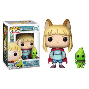 Figura Pop Ni No Kuni: Evan con Higgledies