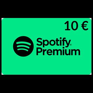 Pin Spotify Digital 10 Euros