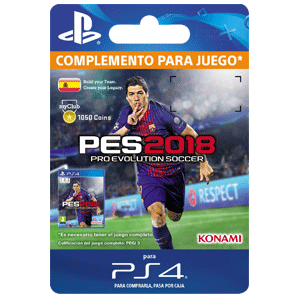 PES 2018 myClub Coin 1050 PS4