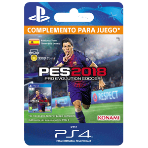 PES 2018 myClub Coin 3300 PS4