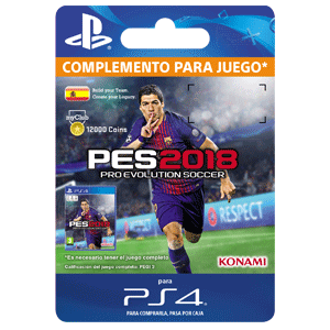 PES 2018 myClub Coin 12000 PS4