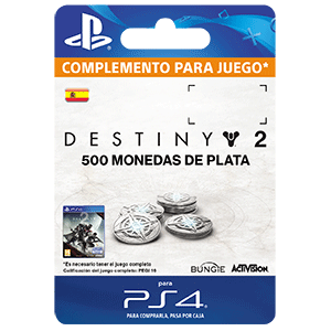 500 Destiny 2 Silver PS4