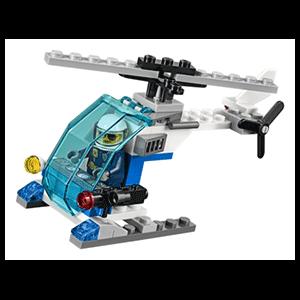 LEGO City Undercover - Figura LEGO Helicóptero