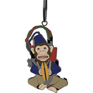 Llavero CoD WWII: Monkey Bomb