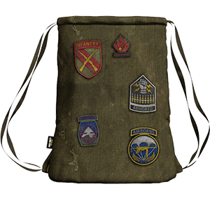 Mochila CoD WWII: Division Patches