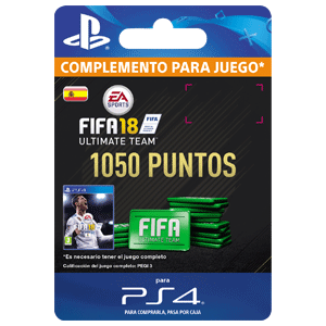 1050 FIFA 18 Points Pack PS4