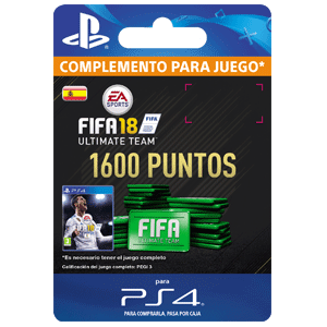 1600 FIFA 18 Points Pack PS4