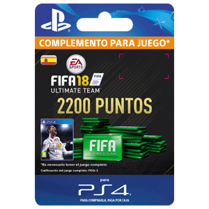 2200 FIFA 18 Points Pack PS4
