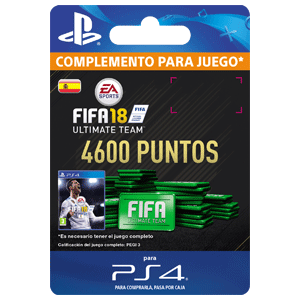 4600 FIFA 18 Points Pack PS4