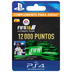 12000 FIFA 18 Points Pack PS4