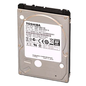 "Toshiba MQ01ABD100 1TB 2.5"" 5400RPM"