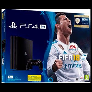 Playstation 4 Pro 1Tb + FIFA 18