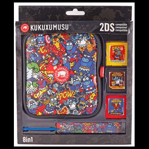 Kit 8 Accesorios 2DS Kukuxumusu